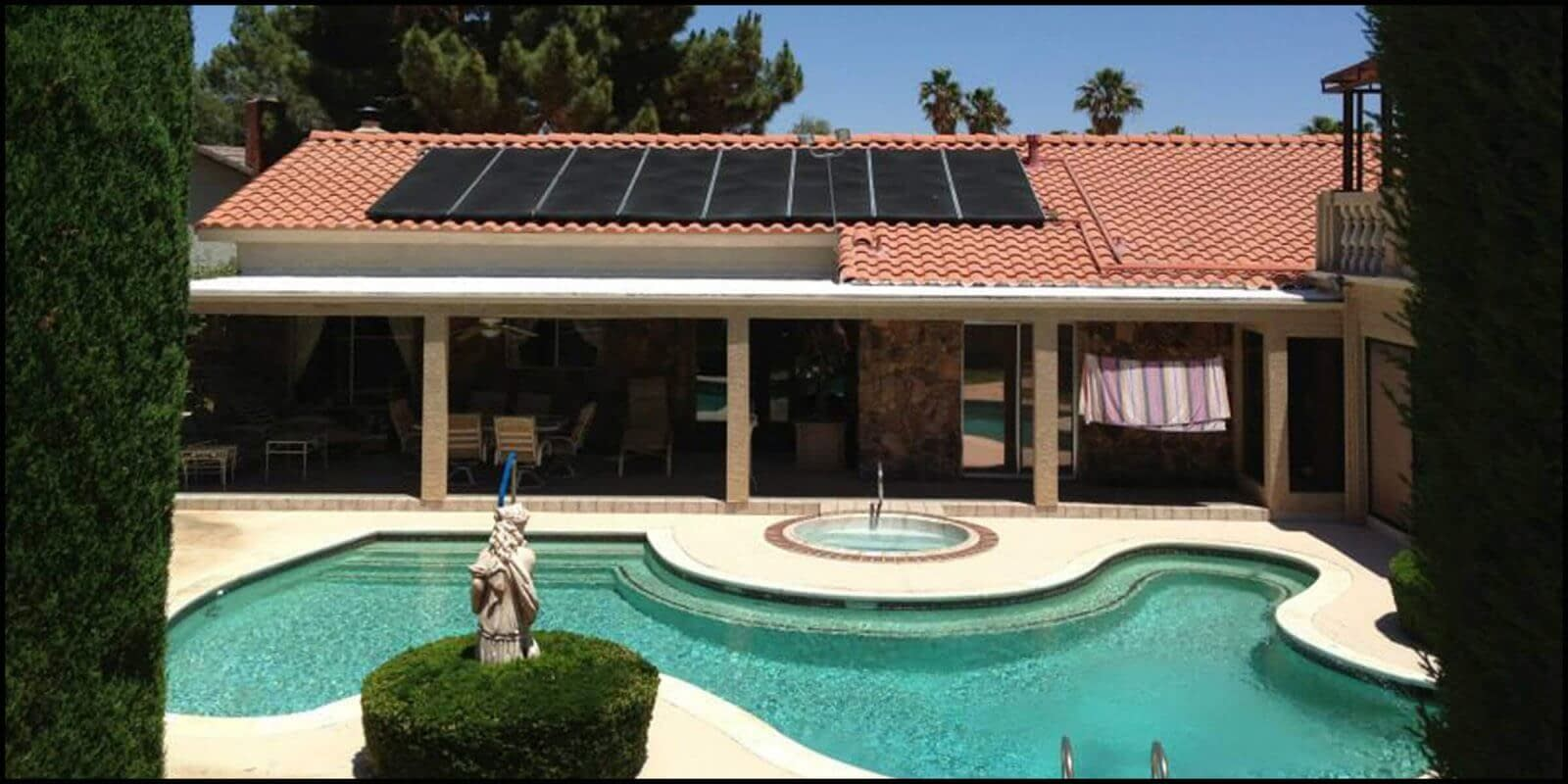 celestial solar pool heating